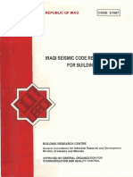 Code 2-1997 - Iraqi_Seismic Code Requirements for Buildings