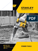Stanley Powertool 2018 Catalog