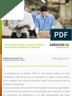 Consejos para elegir un ERP en una empresa de fabricación