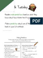 Plot/Predict, Days 2 & 3