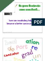 Vocabulary Intro
