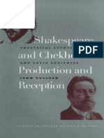 John Tulloch-Shakespeare and Chekhov in Production and Reception_ Theatrical Events and Their Audiences -University of Iowa Press (2005)