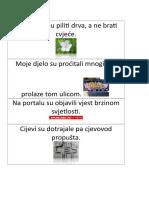 zadaci iz hrvatskog - nađi greške