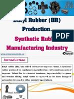 Butyl Rubber (IIR) Production