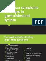 Signs n Symptoms of GEH