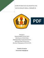 158920_makalah Agronomi Dan Klimatologi Tentang Monografi Desa Cisempur