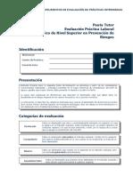 Pauta Evaluación Práctica Laboral Prevención de Riesgos Tutor (1)