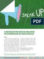A Motivação Por Meio Da Oralidade No Aprendizado Da Língua Inglesa