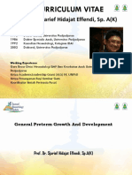 Final General Preterm Growth and Development