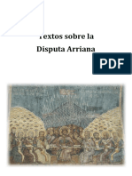 Textos Disputa Arriana jose julio