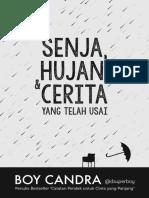 Boy Candra - Senja, Hujan, Cerita yang Telah Usai .pdf