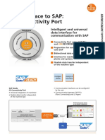 Ifm the Interface to SAP CP Connectivity Port