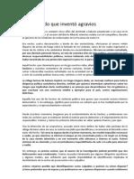 Carta de Antonio Bonfatti
