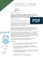 Preguntanan na Minister di VVRP enkargá ku BTPU relashoná ku e sistema di Pagatinu di Aqualectra