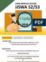 LPDP 2018 PERSIAPAN BEASISWA.ppt
