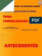Clase 12_Formalización Minera Modif.