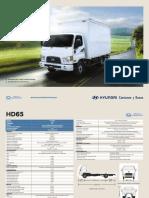 Hd65-1 Cabina- Ficha Tecnica