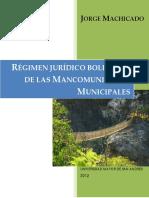 Mancomunidades Municipales en Bolivia