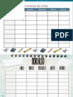 2019 HORARIO CLASES.pptx