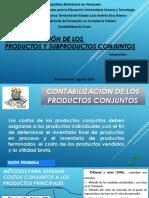 Contabilización de Prod y Subprod Conjunto