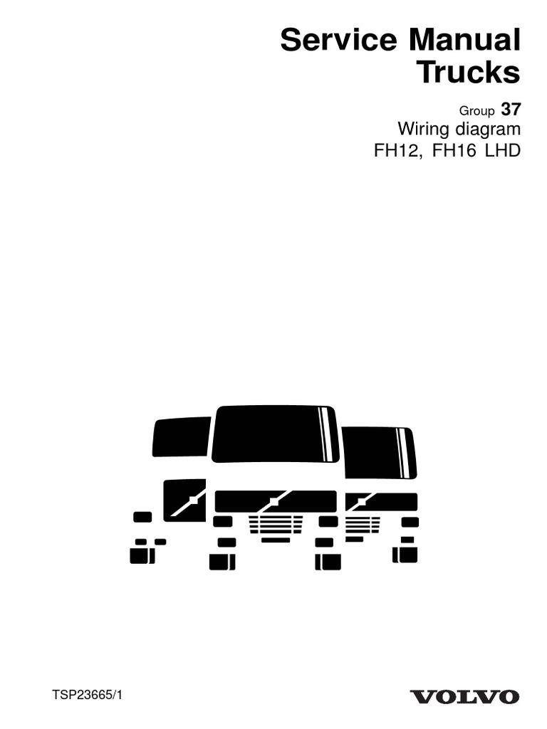 D12a Tsp23665-wiring Diagram Fh12  Fh16 Lhd