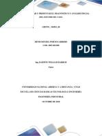 Diagnóstico y Análisis Inicial Del Estudio de Caso.