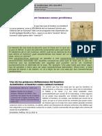 Ficha 1. Antropología Filosófica.