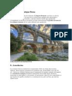 Inventos de La Antigua Roma