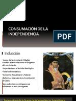 Consumacion de La Independencia