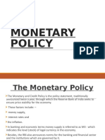 Monetary Policy Rbi Ppt New (1)