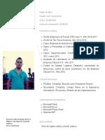 Curriculum Francisco 1