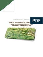 Propuesta Pot Mancomunidad - Aymaraes - Andahuaylas