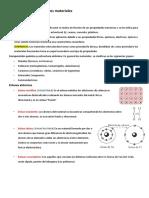 Ciencias de los materiales (Resumen 1)