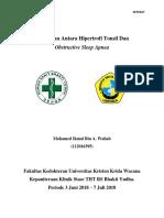 Hubungan Antara Hipertrofi Tonsil Dan OSA