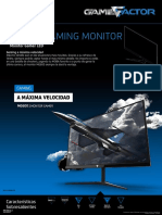 Ficha Monitor Gamer Game Factor MG600