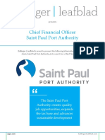 Saint Paul Port Authority - CFO - Position Profile