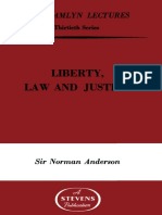Liberty Law and Justice