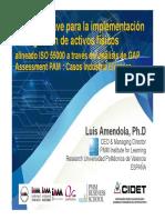Implementación Gestión de Activos Luis Amendola