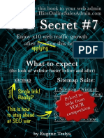 SEO Secret #7 (Ultimate Edition)
