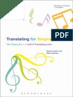 Translating For Singing - The Theory, Art and Craft of Translating Lyrics.pdf