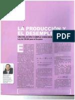 PRODUCCION  Y LA EMPRESA