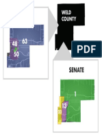Colorado House and Senate districts in Weld County