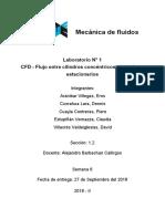 Mec. Fluidos - Laboratorio N°1
