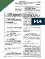 NBR P MB 166 - Determinacao Do Teor de Betume a Cancelada