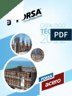 1 - Catalogo Formaleta Forsa Acero 2012