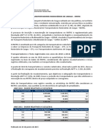 Transportadores e Frota Registrados 2010 a 2016