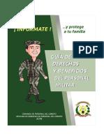 Guia de Derechos y Beneficios Del Personal Militar