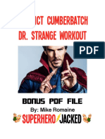 workout dr strange