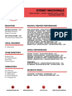 macdonald - performance resume