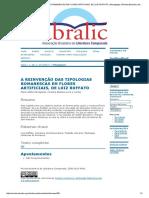 A REINVENÇÃO DAS TIPOLOGIAS ROMANESCAS EM FLORES ARTIFICIAIS, DE LUIZ RUFFATO _ Menegazzo _ Revista Brasileira de Literatura Comparada.pdf
